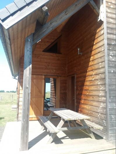 Location de vacances - Chalet à Chastreix - terrasse 1