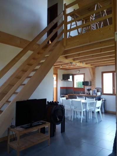 Location de vacances - Chalet à Chastreix - vue séjour