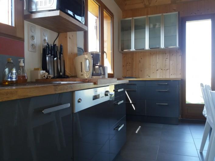 Location de vacances - Chalet à Chastreix - cuisine
