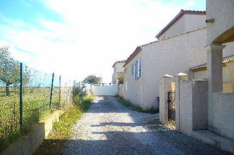 Location de vacances - Villa à Frontignan - Chemin d'accès