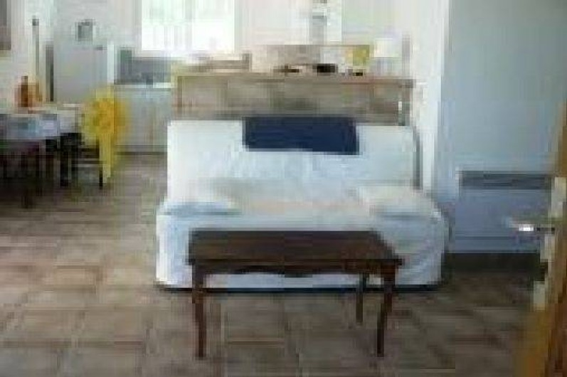Location de vacances - Villa à Frontignan - Salon avec clic clac
