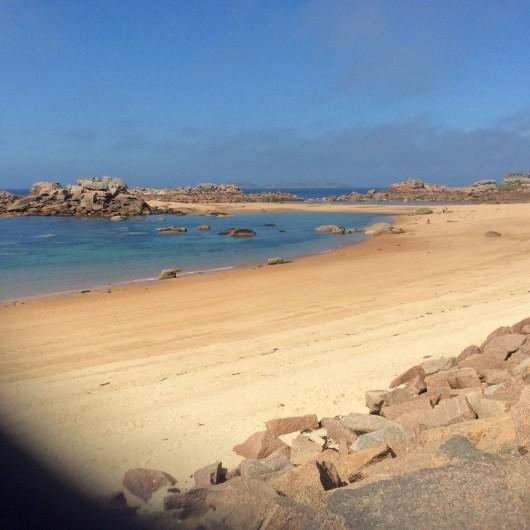 Location de vacances - Studio à Trégastel - plage de l'ile Renote