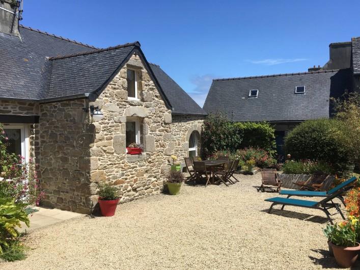 Location de vacances - Maison - Villa à Roscoff - Vue du Gîte 2