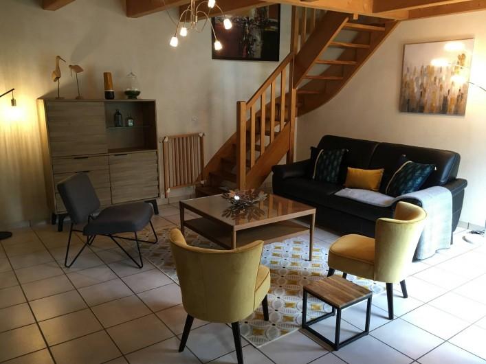 Location de vacances - Maison - Villa à Roscoff - Vue salon
