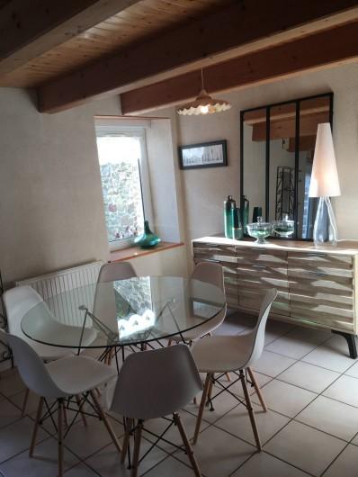 Location de vacances - Maison - Villa à Roscoff - Coin repas