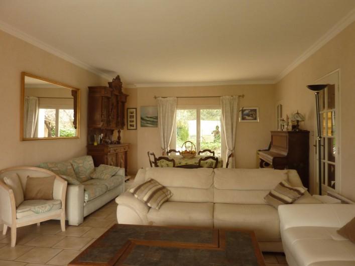 Location de vacances - Villa à La Ciotat - Salon Séjour