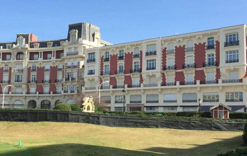 Location de vacances - Appartement à Biarritz - Location de vacance Biarrtiz