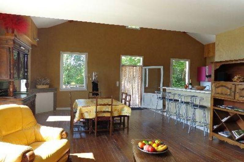 Location de vacances - Gîte à Plan-de-Baix - La salle à manger