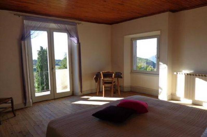 Location de vacances - Gîte à Plan-de-Baix - La chambre (1 lit de 160)