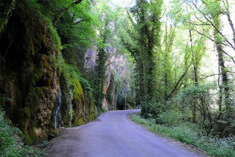 Location de vacances - Gîte à Plan-de-Baix - Les gorges d'Omblèze