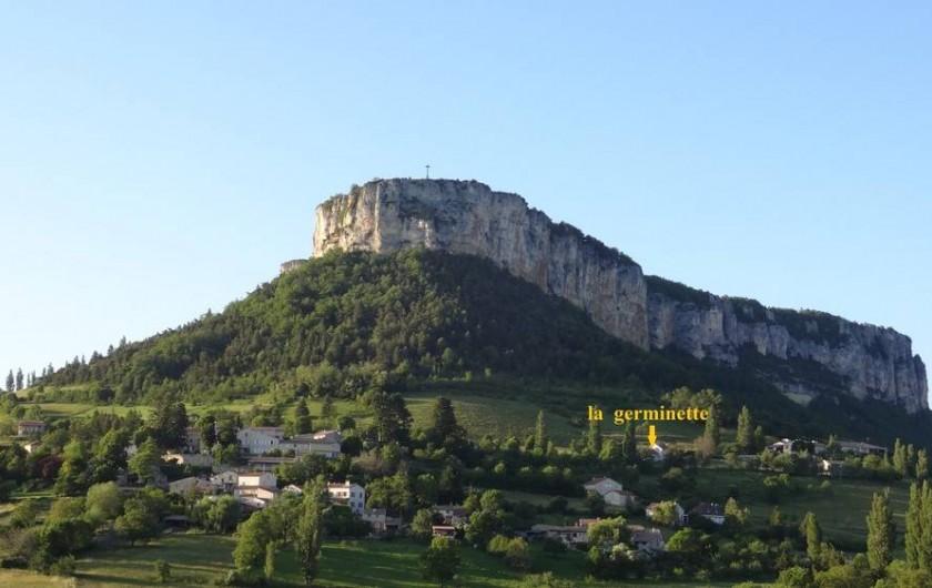 Location de vacances - Gîte à Plan-de-Baix - Le rocher du Vellan