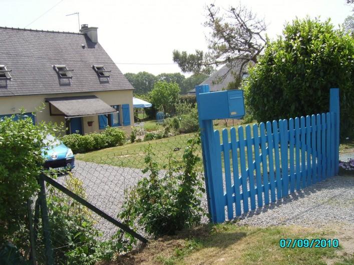 Location de vacances - Maison - Villa à Clohars-Carnoët - ENTREE VUE D'ENSEMBLE