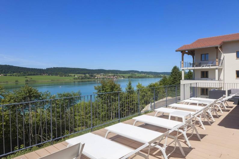 Location de vacances - Appartement à Malbuisson - Solarium SPA