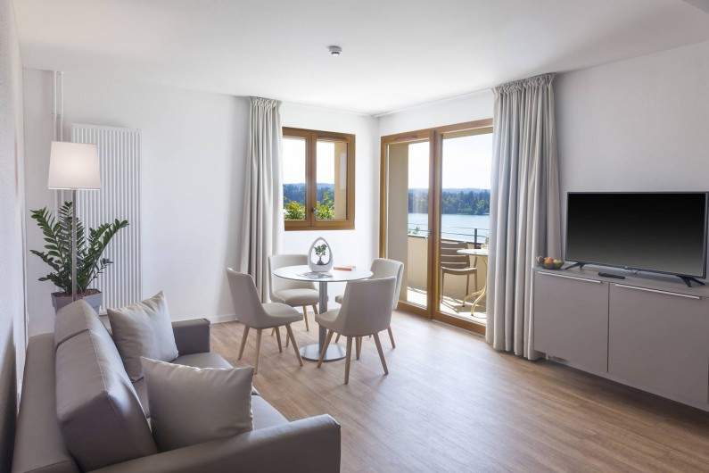 Location de vacances - Appartement à Malbuisson - Salon de la suite