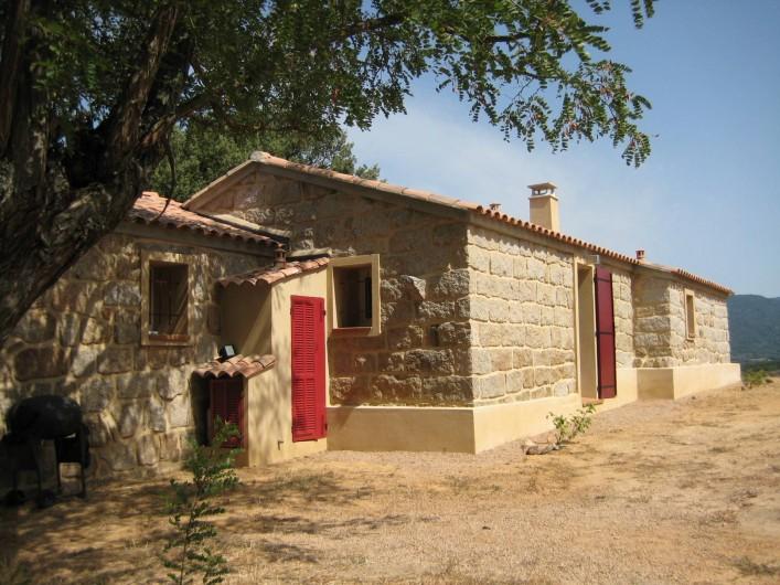 Location de vacances - Appartement à Sartène - Arrière de la maison