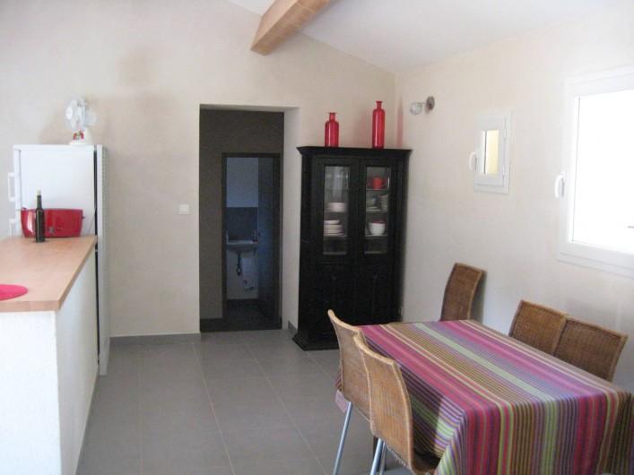 Location de vacances - Appartement à Sartène - Séjour coté salle à manger