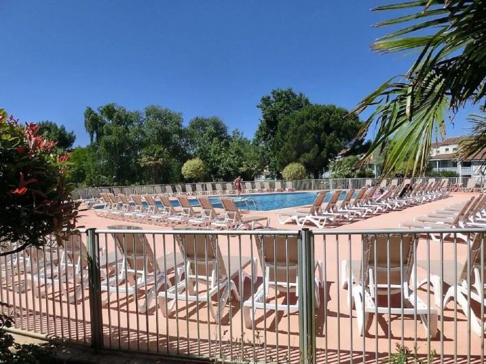 Location de vacances - Villa à Moliets-et-Maa - Piscine et pataugeoires enfants