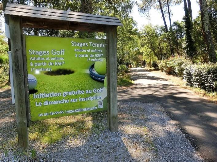 Location de vacances - Villa à Moliets-et-Maa - Stage de Golf Moliets