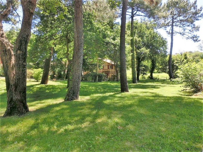 Location de vacances - Villa à Moliets-et-Maa - Résidence  de tourisme de plusieurs hectares.