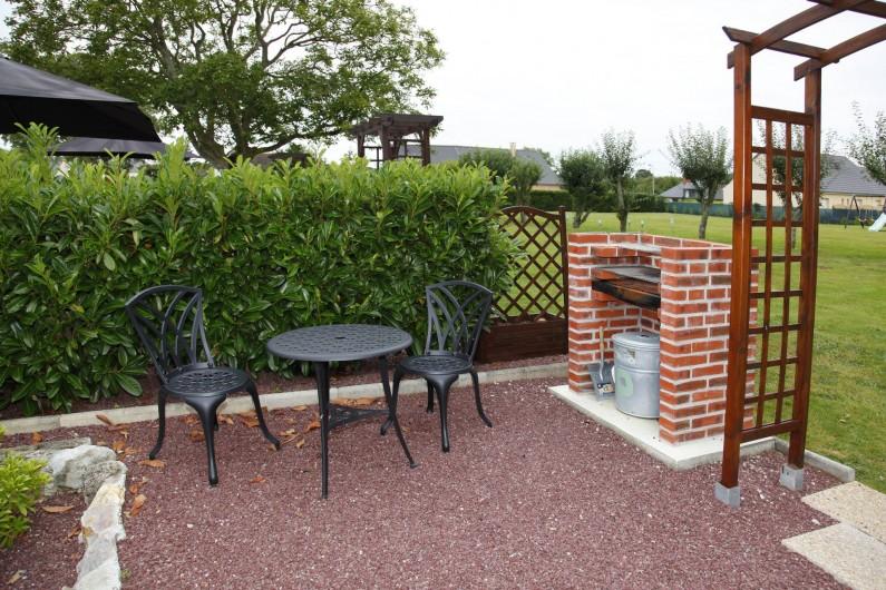 Location de vacances - Gîte à Sainteny - bbq