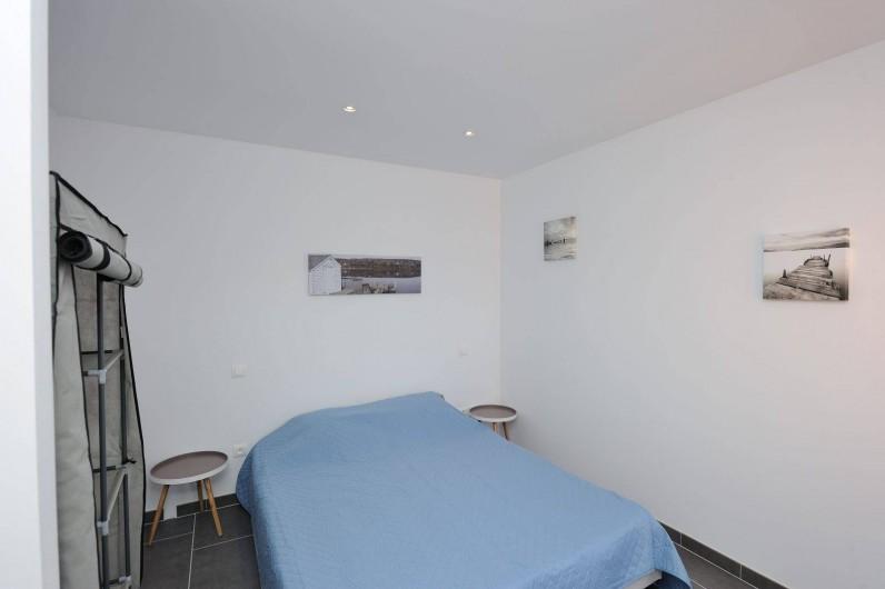 Location de vacances - Villa à Bonifacio - chambre avec lit double en 160/200 pour nos chalets
