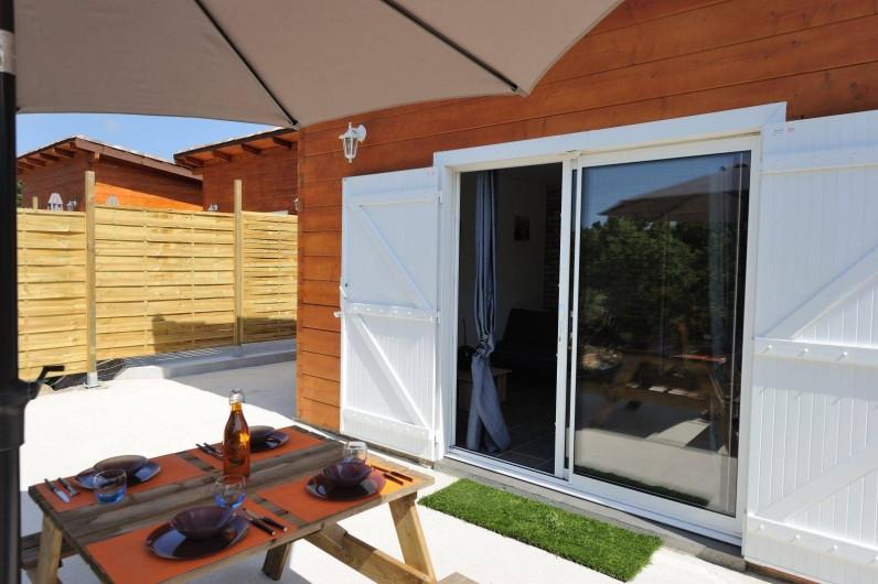 Location de vacances - Villa à Bonifacio - nos chalets pour 2 ou 4 personnes maximum
