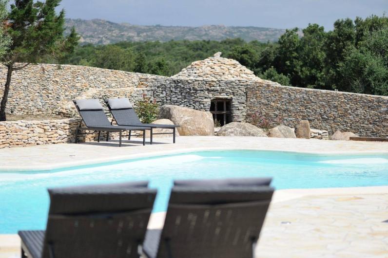 Location de vacances - Villa à Bonifacio - piscine