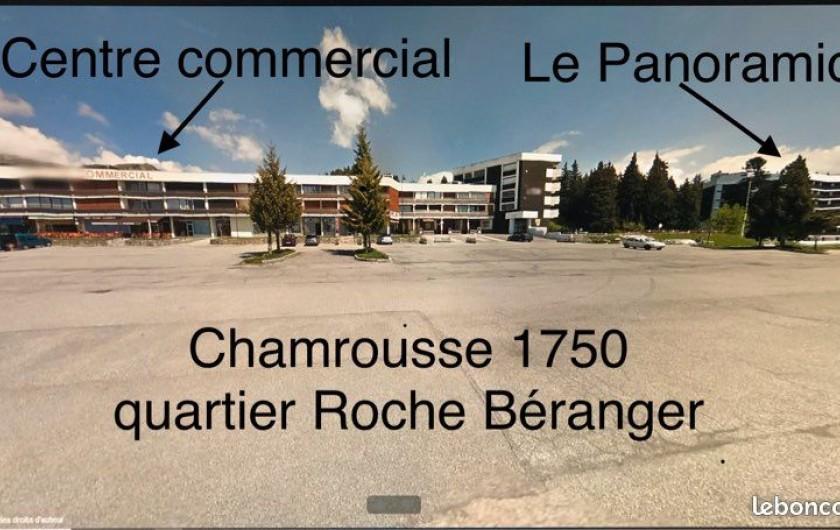 Location de vacances - Appartement à Chamrousse - DISPOSITION IMMEUBLE PANORAMIC