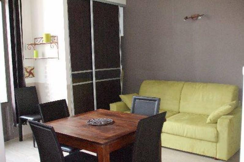 Location de vacances - Appartement à Arcachon - salle à manger/ salon