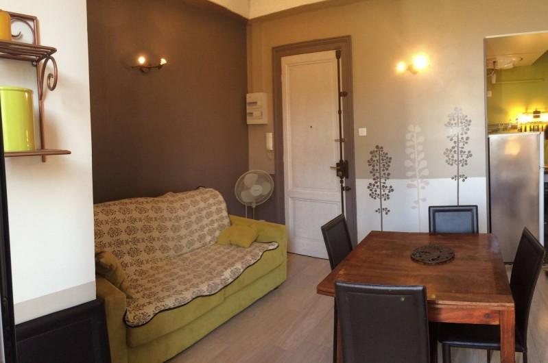 Location de vacances - Appartement à Arcachon - salon/salle à manger