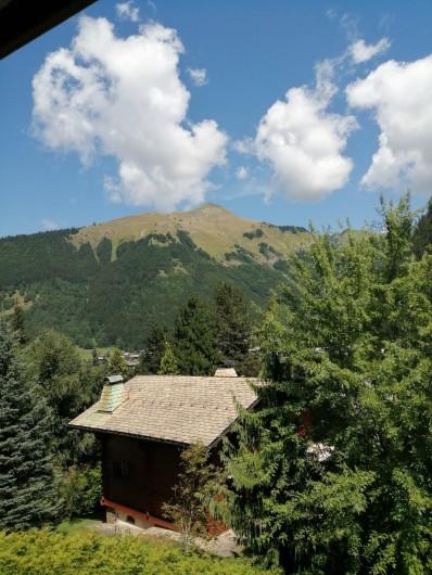 Location de vacances - Studio à Morzine - vue balcon