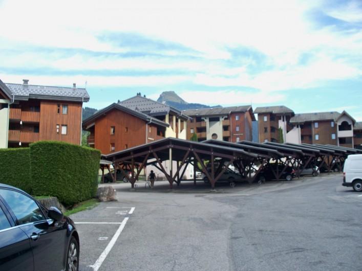 Location de vacances - Studio à Morzine - place de parking