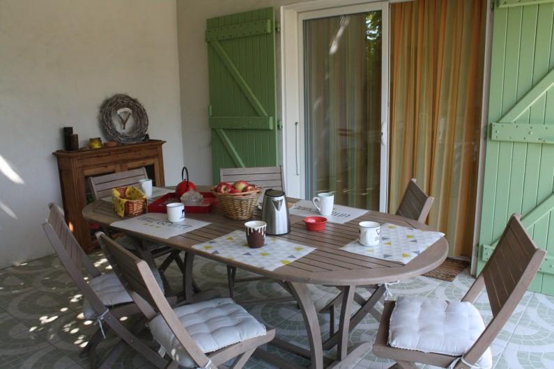 Location de vacances - Gîte à Lafrançaise - Nos vergers de pommiers.