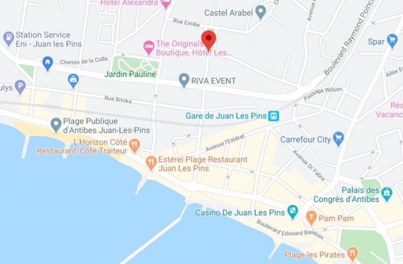 Location de vacances - Studio à Juan les Pins