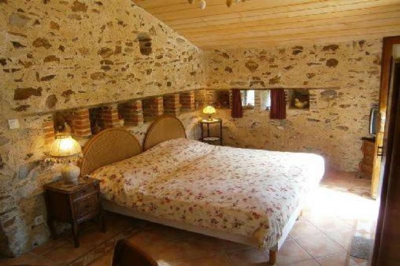 Location de vacances - Gîte à Mareuil-sur-Lay-Dissais - chambre  4- 2 lits x90 dans annexe