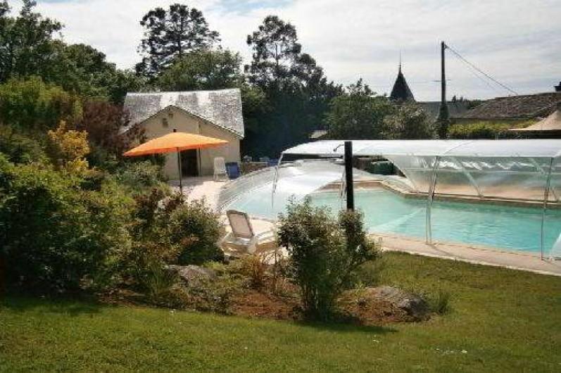 Location de vacances - Gîte à Mareuil-sur-Lay-Dissais - piscine couverte