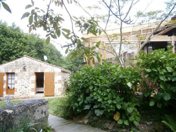 Location de vacances - Gîte à Mareuil-sur-Lay-Dissais - entrée annexe