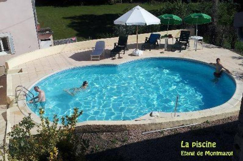 G tes avec piscine p che restauration avec r servation l for Camping puy de dome avec piscine