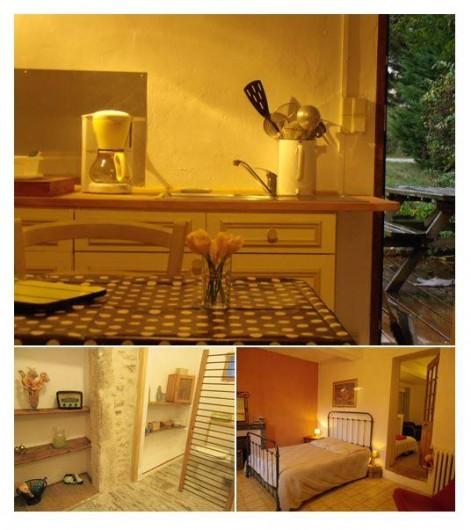 Location de vacances - Gîte à Marsanne - gite lorette scoot nomad location vacances tourisme marsanne  interieur