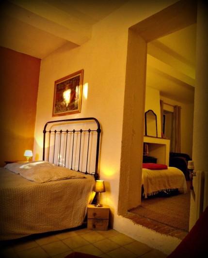 Location de vacances - Gîte à Marsanne - chambre Georges  gite lorette scoot nomad location vacances tourisme marsanne