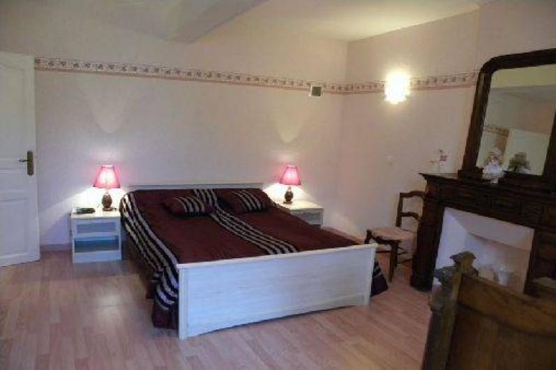 Location de vacances - Gîte à Duffort - La chambre Rose