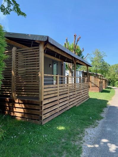 Location de vacances - Camping à Lathuile - Cottage