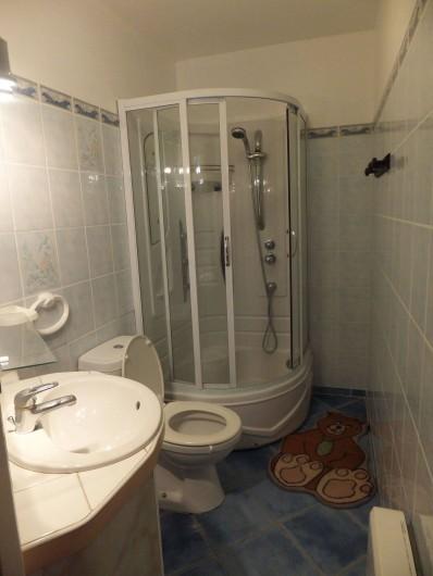 Location de vacances - Gîte à Villetelle - douche hydromassante