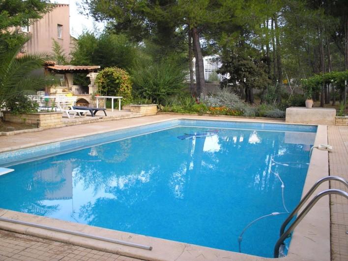 Location de vacances - Gîte à Villetelle - piscine 13x7m