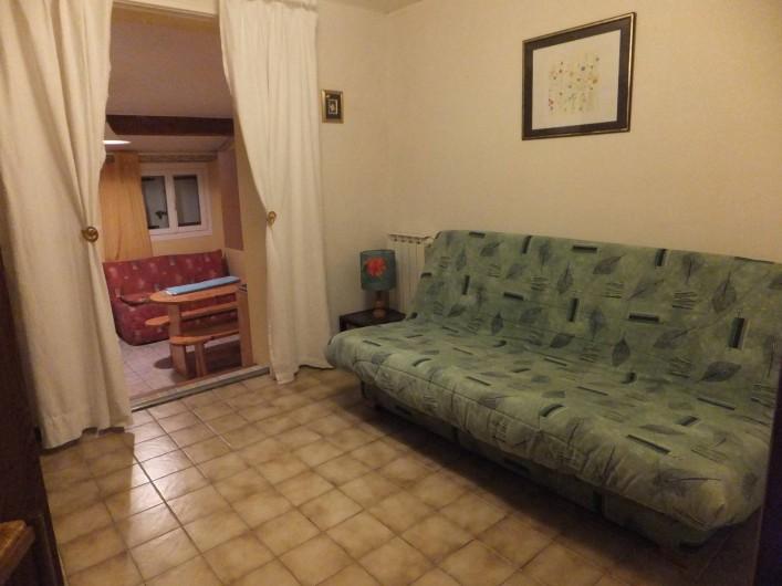 Location de vacances - Gîte à Villetelle - chambre 2 en 140
