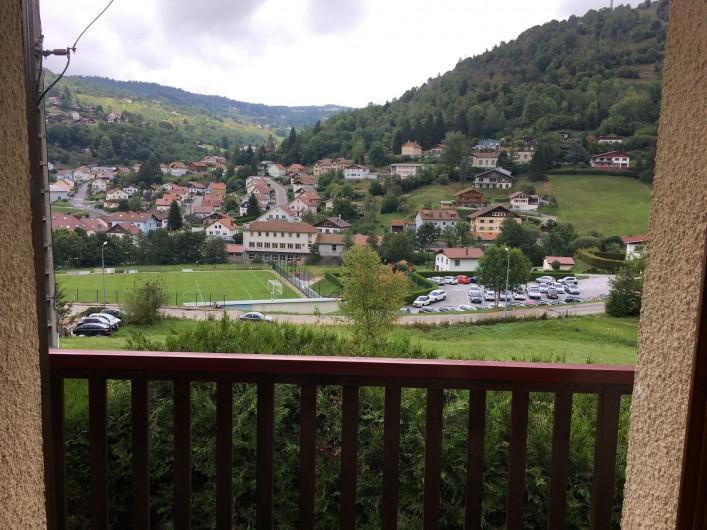 Location de vacances - Chalet à La Bresse - vue du balcon