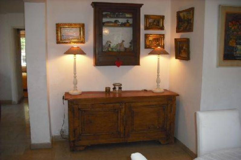 Location de vacances - Appartement à Nîmes - salon