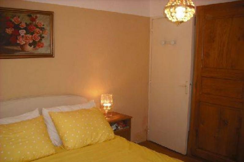 Location de vacances - Appartement à Nîmes - chambre grand lit