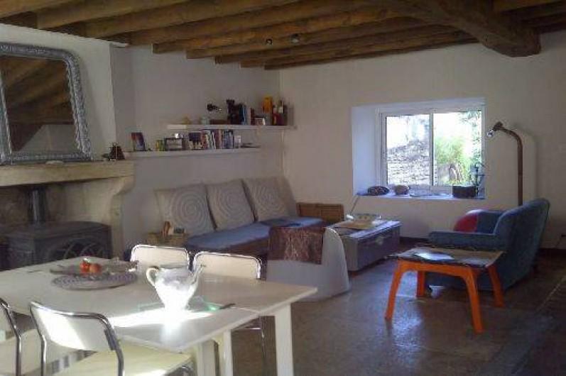 Location de vacances - Maison - Villa à Viserny - salon /salle à manger