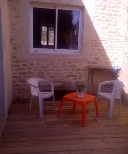 Location de vacances - Maison - Villa à Viserny - terrasse extérieure